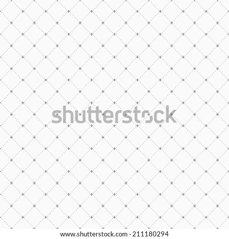 Simple grey geometric pattern, seamless vector background