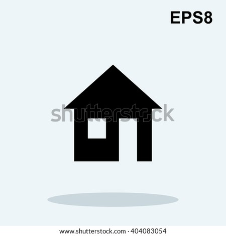 House Silhouette Stock Photos, Images, & Pictures ...