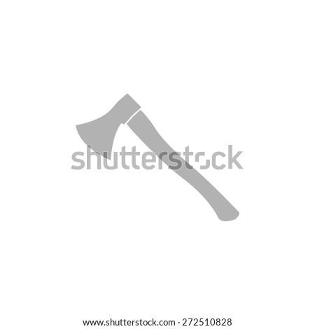 Simple icon ax. - stock vector