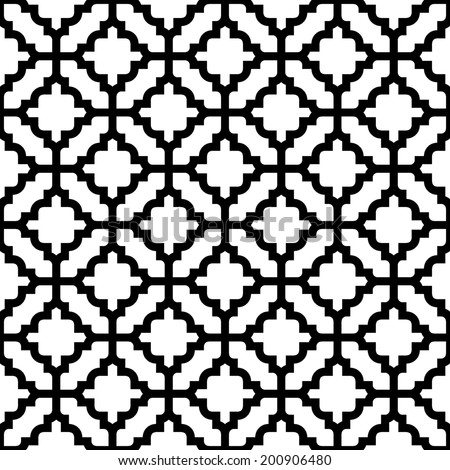 simple lattice vector pattern - stock vector