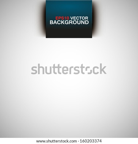 Simple light vector background - stock vector