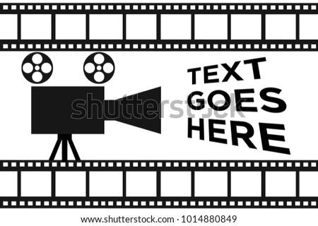 Simple Movie Reel Banner