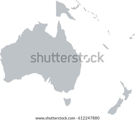 Australia Map Grey.Political Simple Map Of Western Australia On Simple Australia Map