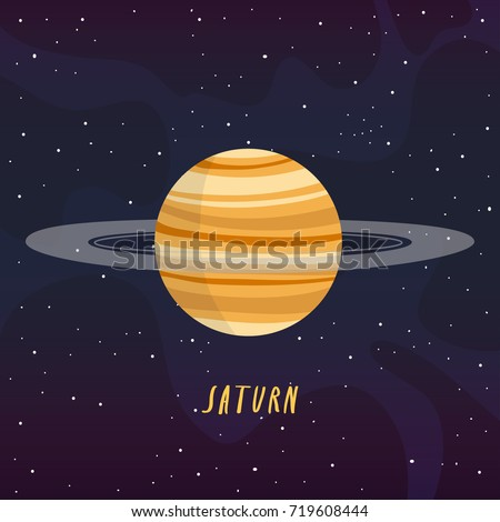 Background information of the planet saturn
