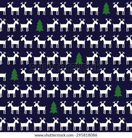 Simple Seamless Christmas Pattern