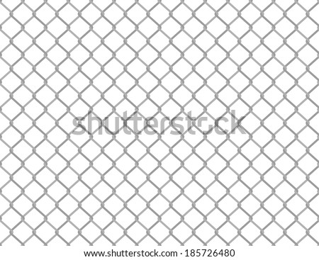 Simple seamless wired fence pattern in two shades of grey - stock vector