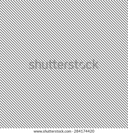 Simple Slanting Lines Vector Background - stock vector