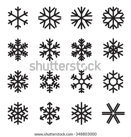 Frozen Snowflake Black And White