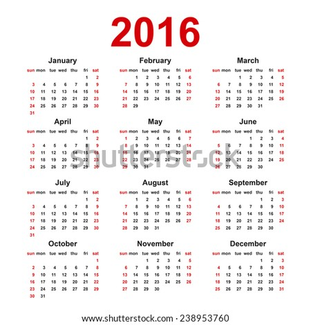 42kB, Blank Year Calendar One Page/page/2 | New Calendar Template Site ...