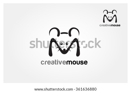 Simple Vector sign elephant - stock vector