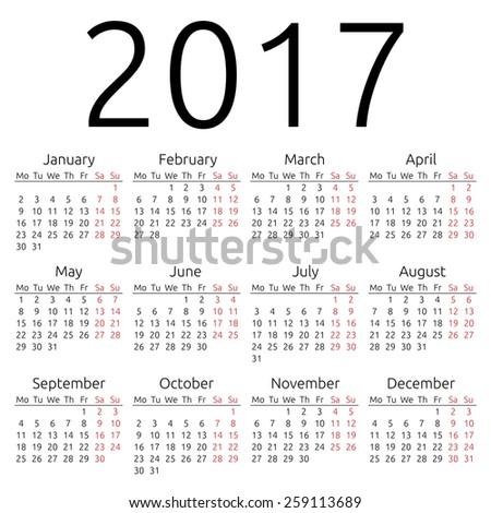 year calender
