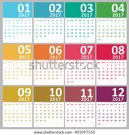 Yearly Calendar Designs