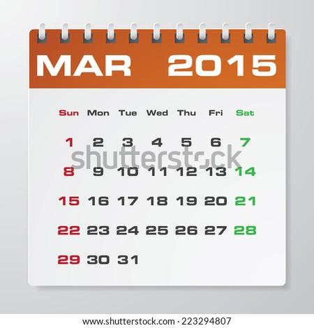 Annual Calendar Sample Images RoyaltyFree Images Vectors – Sample 2015 Calendar