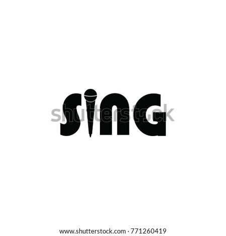 sing letter logo stock vector royalty free 771260419 shutterstock