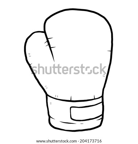 Boxing Glove Outline For A Cake