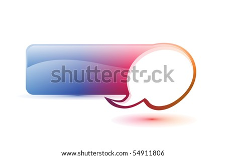 Single ornate icon with a banner to add your text and light red background. - stock vector