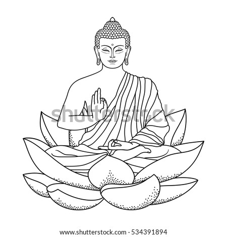 Buddha Outline Www Pixshark Com Images Galleries With