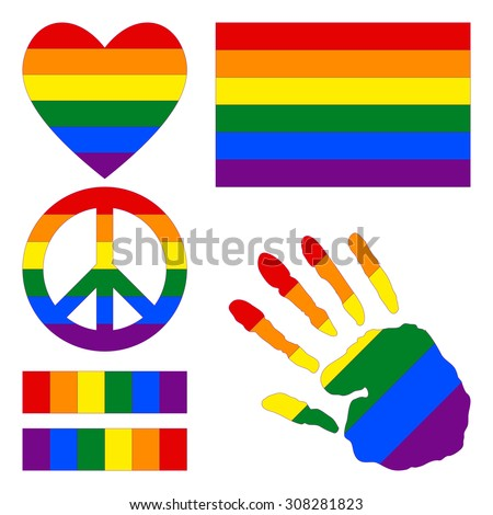gay rights symbols and colors