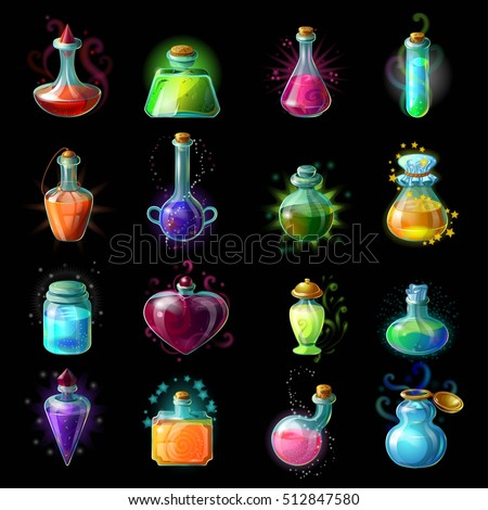 Quot Magic Potions Quot Stock Images Royalty Free Images