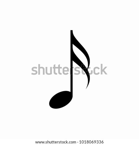 Sixteenth Notes Icon Vector Music Symbol Stock Vector Hd Royalty