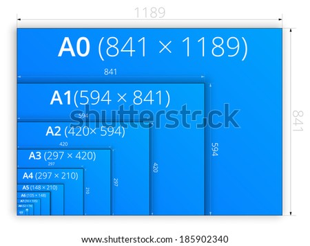 Size a4 stock images royalty free images vectors for Blueprint size paper