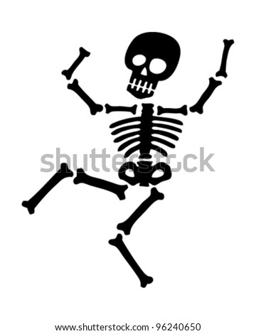 Skeleton - stock vector