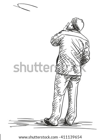 Man Sketch Stock Photos, Images, & Pictures | Shutterstock