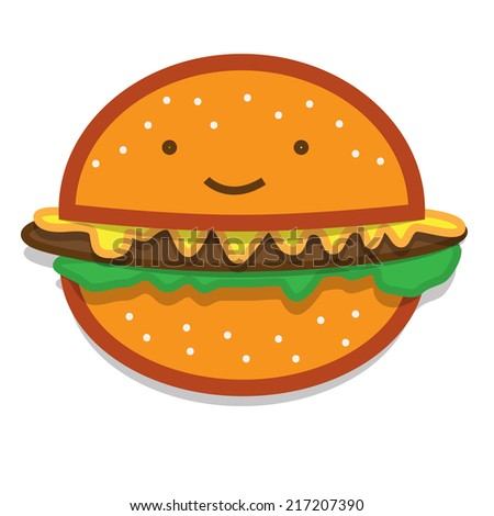 sketch of the hamburger icon on white background - stock vector