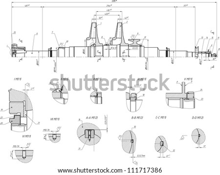 Sketch rotor centrifugal pump vector eps 10 stock vector 111717386 sketch of the rotor of a centrifugal pump vector eps10 ccuart Image collections