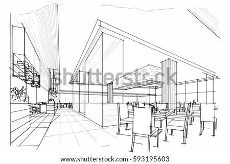 interior design sketch stock images royaltyfree images