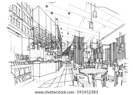 Sketch Interior Design Impressive Interior Design Sketch Stock Images Royaltyfree Images & Vectors . Inspiration Design