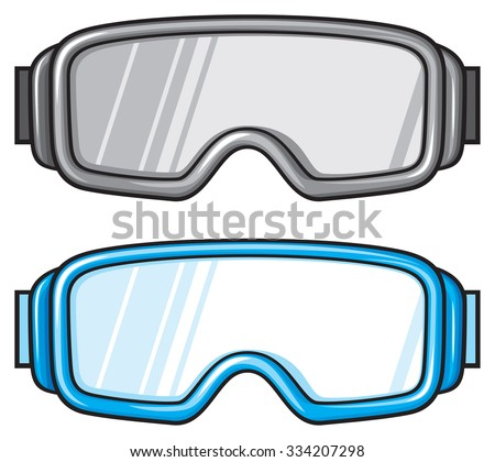 reflective snowboard goggles  Reflective Snow Goggles Stock Images, Royalty-Free Images ...