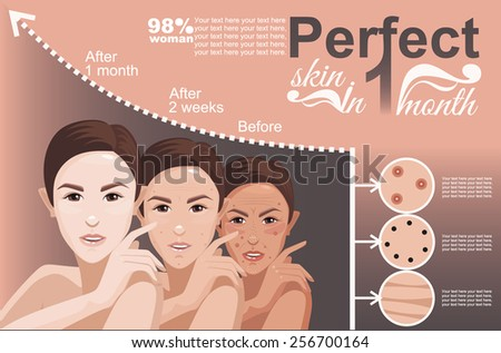 skin Oriental - stock vector