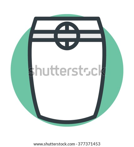 Skirt Vector Icon