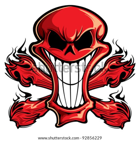 Skull Cartoon Stock Images, Royalty-Free Images & Vectors ...