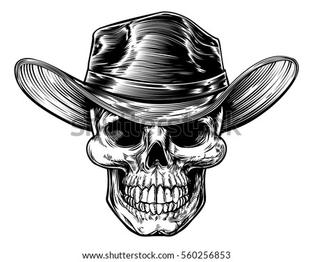 Skull Cowboy Stock Images Royalty Free Images Amp Vectors