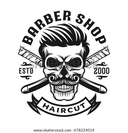 Barber Logo Stock Images, Royalty-Free Images & Vectors ...