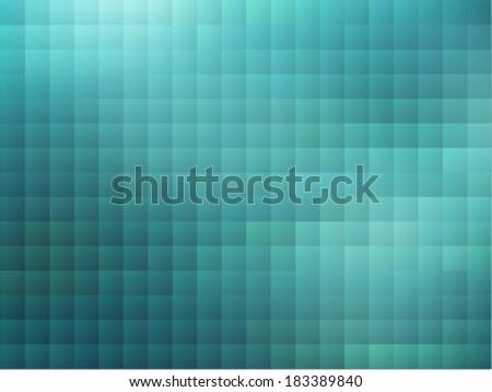 Sky Blue Pixel Background  - stock vector
