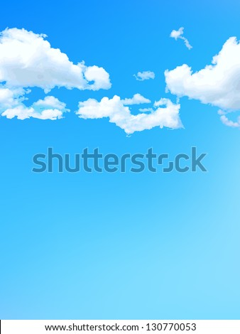 Sky blue sky background