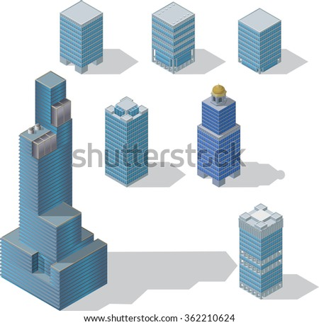 skyscraper set 1