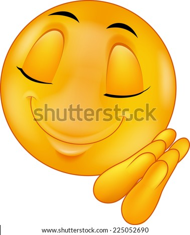 Sleeping smiley emoticon - stock vector