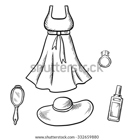 Sun clipart images black and white dress