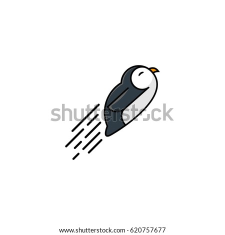 Penguin Slide Stock Images RoyaltyFree Images  Vectors