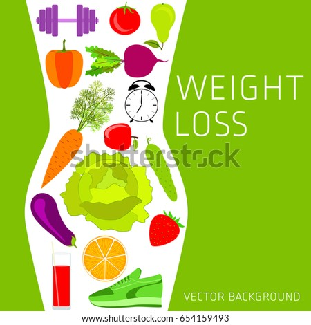 Lose weight by monitoring blood sugar