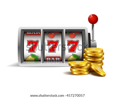 stock-vector-slot-machine-with-lucky-sev
