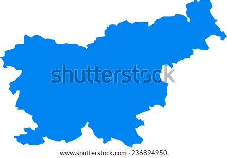 Slovenia Vector Map