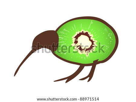 Kiwi Bird Isolated Stock Images, Royalty-Free Images & Vectors ...