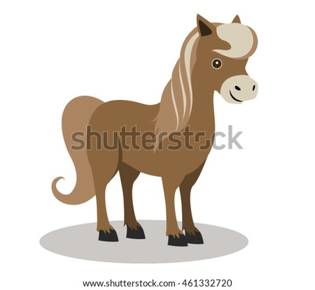 Small Brown Horse