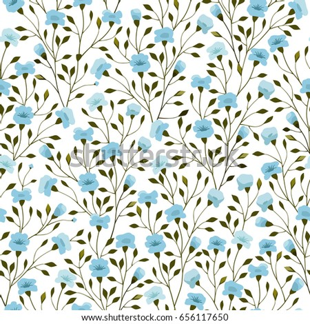 Small flowers pattern seamless floral background stock vector small flowers pattern seamless floral background for cute trendy design textiles wrapping paper mightylinksfo