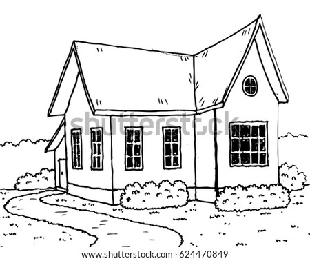 Front Door Coloring Page together with Residential Plan Requirements together with Small House Garden Cartoon 624470849 together with Simple house drawing furthermore 2004 2007 nissan titan front door panel removal procedure. on houses from front view
